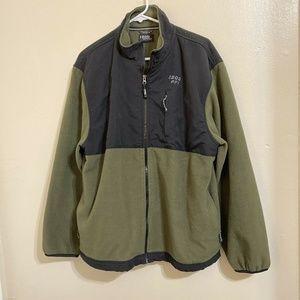 Izod PFX Fleece Jacket Full Zip Size L P10E